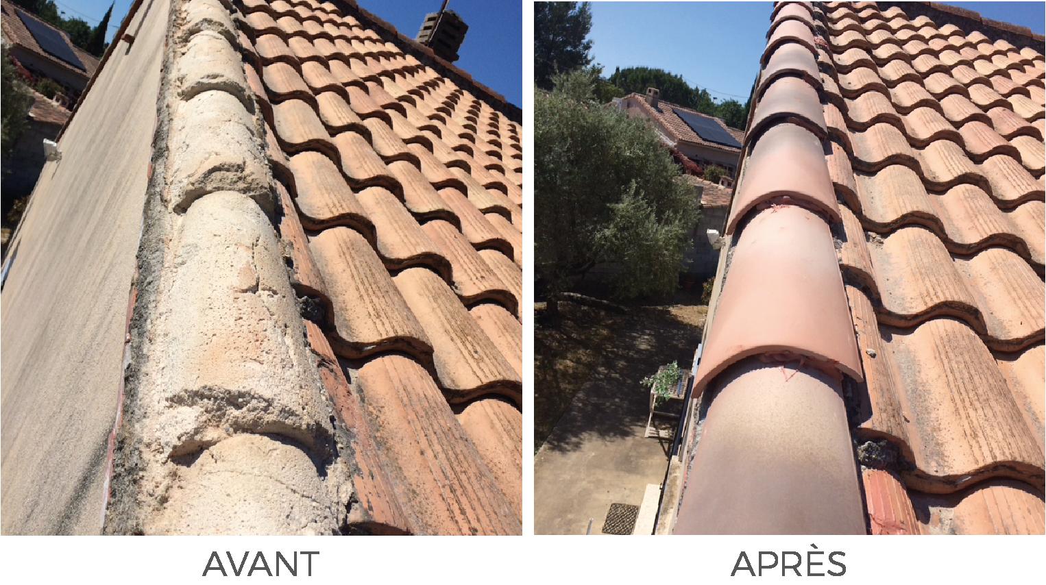 Artisan Monsieur Jean couvreur spécialiste du traitement et peinture de votre façade et toiture Salernes, Vidauban, Puget sur Argent