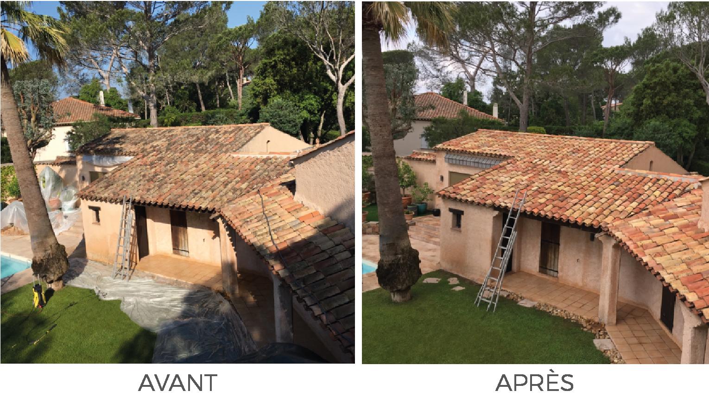 Artisan Monsieur Jean spécialiste de la peinture et du nettoyage extérieur de votre façade à Vidauban, Lorgues, Saint-Tropez